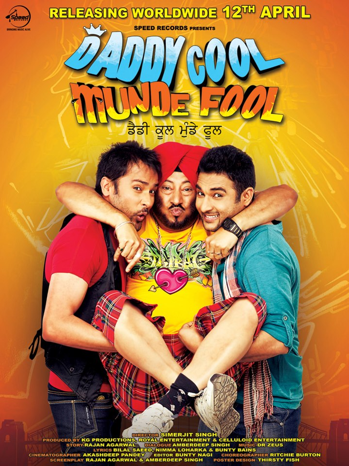 Daddy Cool Munde Fool (2013) Punjabi Movie ScamRip
