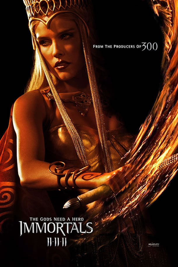 Immortals (2011) Dual Audio BRRip 720P