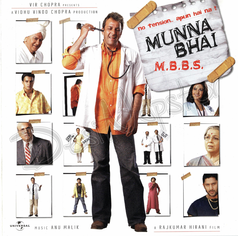Munnabhai M.B.B.S. (2003) Hindi Movie BRRip 720p