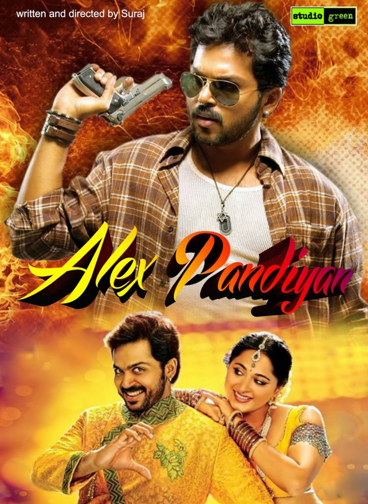 Alex Pandian (2013) Hindi Dubbed Movie Watch Online