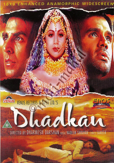 Dhadkan (2000) Hindi Movie Watch Online For Free In Full HD 1080p