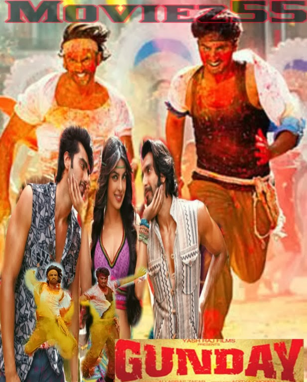 Gunday (2014) Full Hindi Movie Watch Online Full HD 1080p