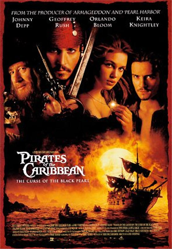 caribbean the curse of the black pearl (2003)
