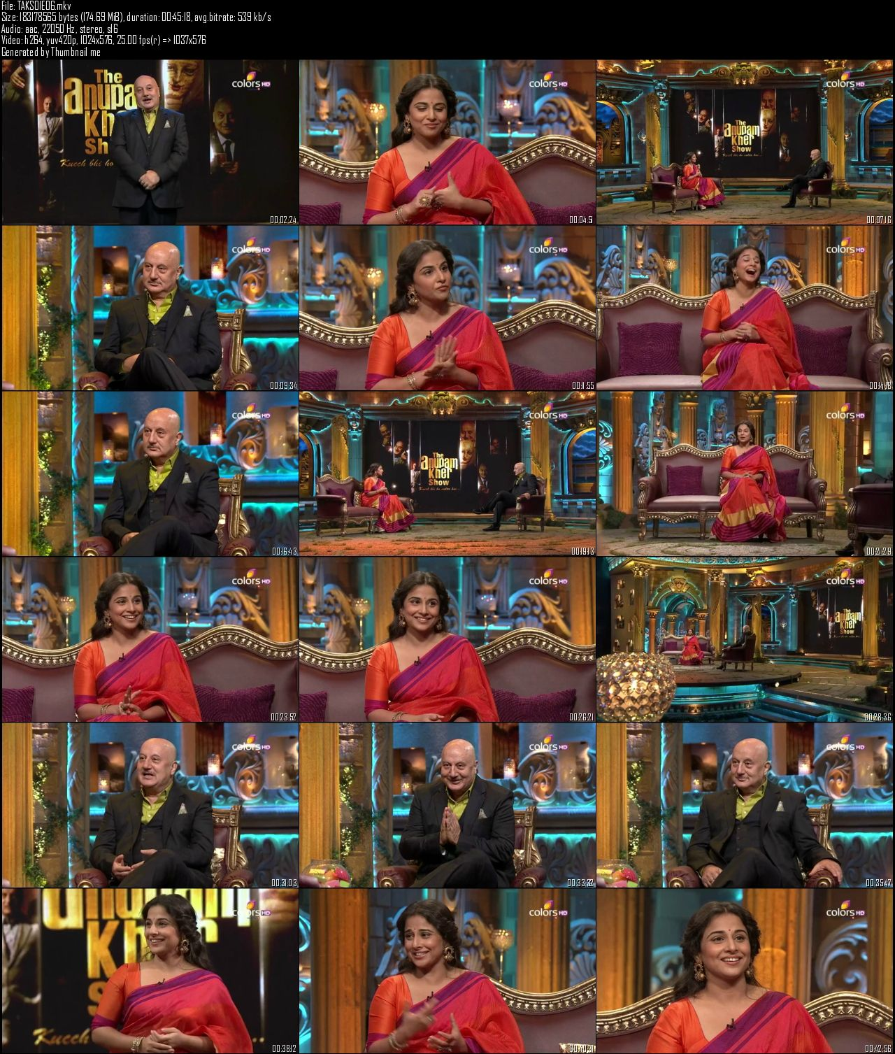 The Anupam Kher Show 10th August (2014)