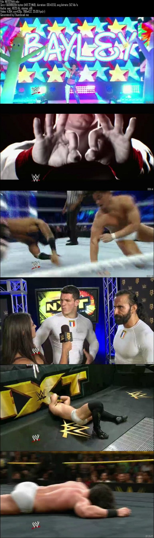 WWE NXT 14th August 2014