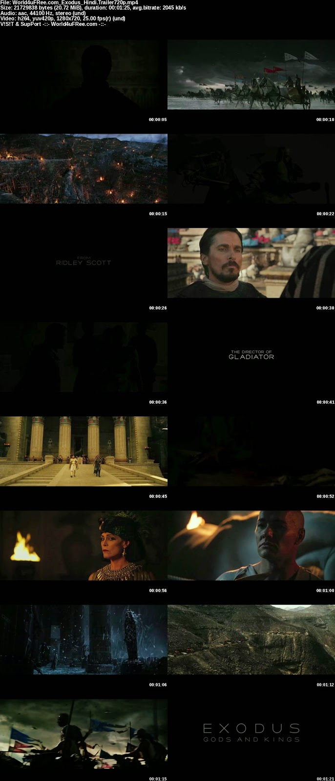 Exodus Gods and Kings 2014