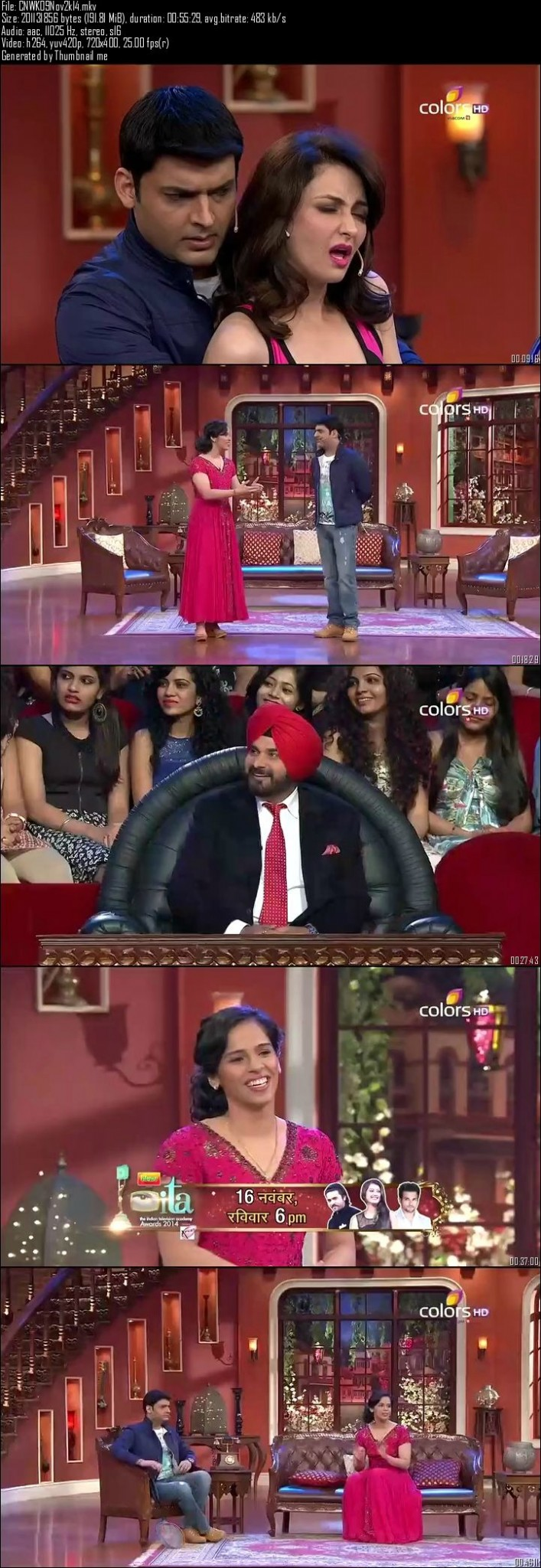 Comedy Nights With Kapil 9th November (2014)