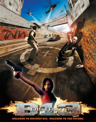 District B13 (2004) Hindi Dubbed Download 250MB 480p