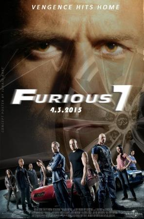 Fast & Furious 7 (2015) 375MB Dual Audio Download
