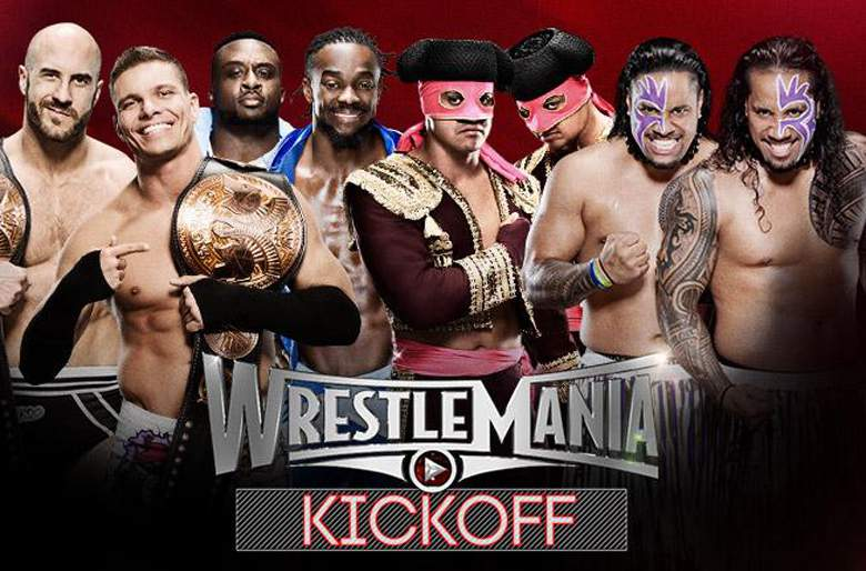 WWE Wrestlemania XXXI Kickoff Show 29th March (2015) 250MB 480p Download