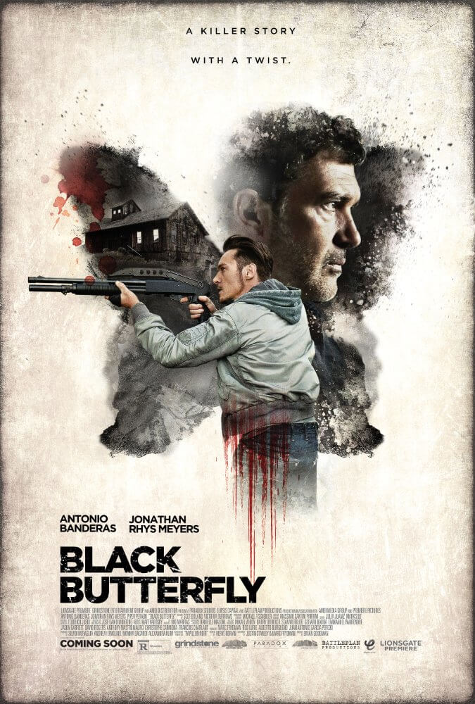 Black Butterfly (2017) English 1080p WEBDL 850MB