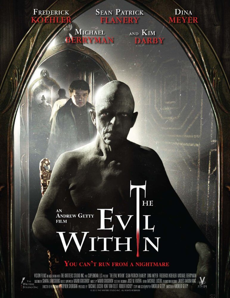 The Evil Within (2017) English 480p DVDRip 400MB