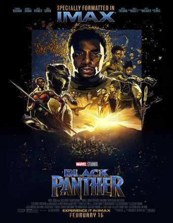 Black Panther 2018 Hindi ORG Dual Audio 150MB BluRay HEVC Mobile