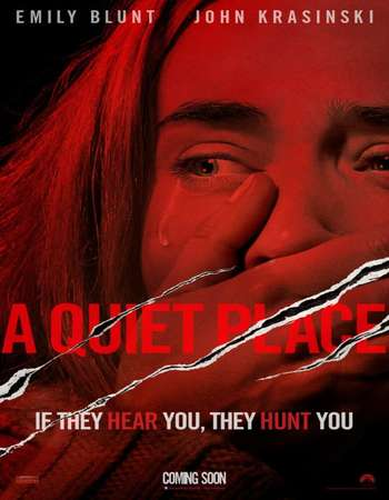 A Quiet Place 2018 Dual Audio 130MB BluRay HEVC Mobile ESubs