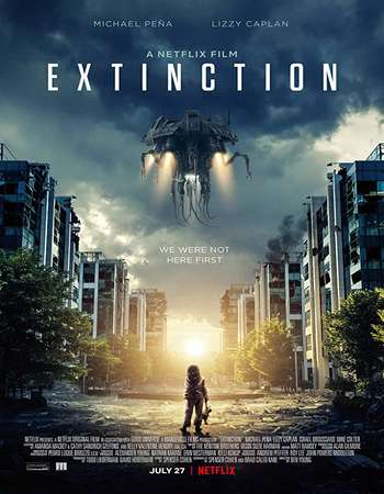 Extinction 2018 English 350MB WEBRip 480p