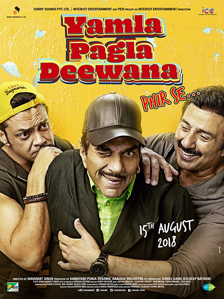 Yamla Pagla Deewana Phir Se (2018) Full Movie Watch Online